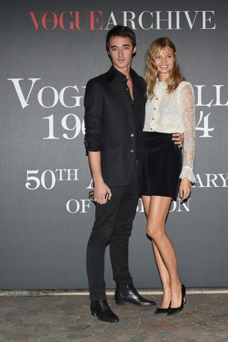 Daniele Cavalli y Magdalena Frackowiak