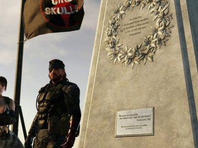 En Metal Gear Solid V ya se celebra el desarme nuclear... y Konami no tiene idea de por qué