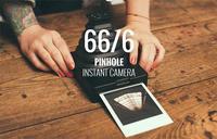 Supersense ofrece una edición 66/6 limitada de su cámara estenopeica instantánea