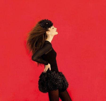 Vestidos negros Etxart &Panno Otoño-Invierno 2010/2011: el color que nunca falla