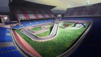 Stadium Race: convirtiendo el Vicente Calderón en un circuito de carreras