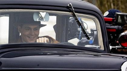 Primera imagen de Johnny Depp como Dillinger