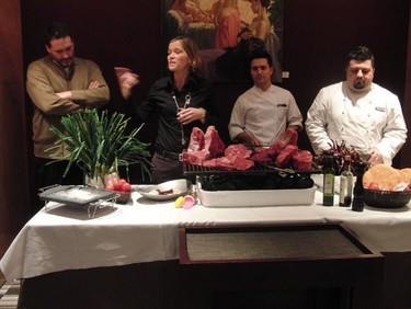Jornadas de calçots y carne gallega en el restaurante Filigrana de Barcelona
