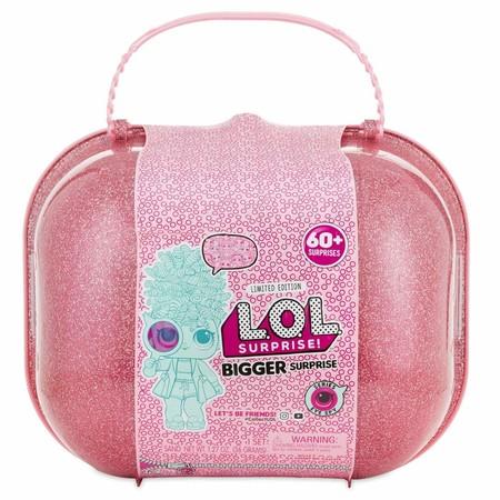 El maletín Even Bigger de LOL Surprise con más de 60 sorpresas por 112,45 euros y envío gratis