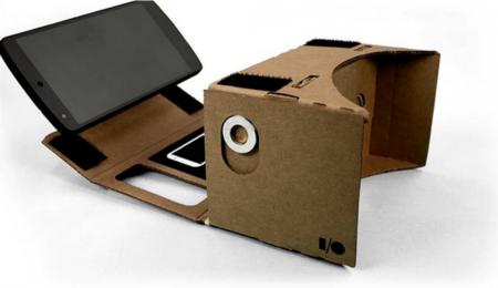 Google Cardboard, una caja de cartón para llevar la realidad virtual a tu teléfono