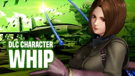 Whip regresa a King of Fighters como nuevo DLC
