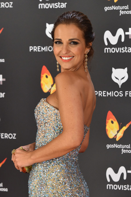 Paula Echevarria Vestido Dolores Promesas