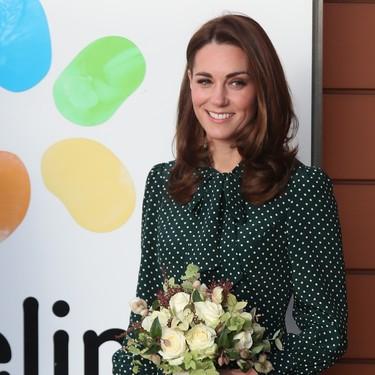 Kate Middleton nos muestra cómo llevar los lunares de la forma más ladylike