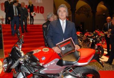 La MV Agusta Brutale 1078RR, moto del año en Italia
