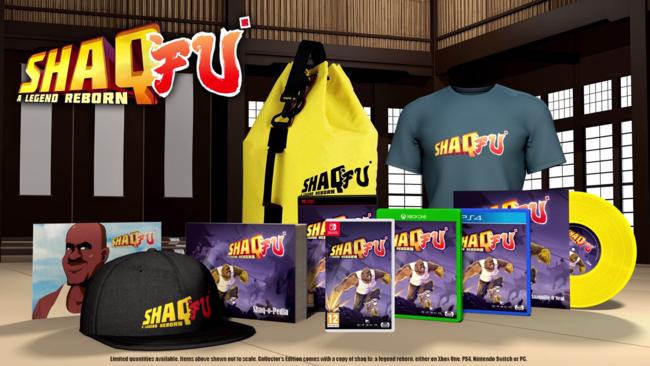 Shaq FU: A Legend Reborn anuncia su Collector's Edition. Y ojo, sólo se producirán 500 unidades