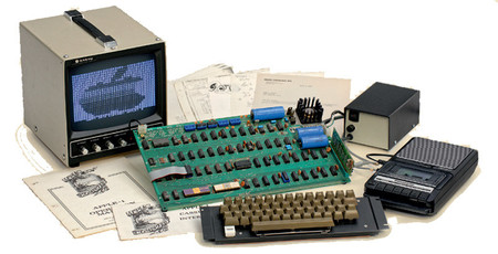 40 años después, un Apple I en pleno funcionamiento ha sido subastado por 130.000 dólares