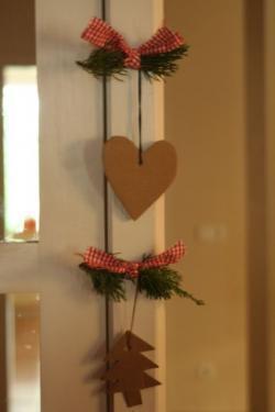 Preciosos adornos navideños hechos a mano