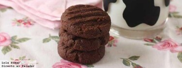 Galletas 3,2,1 de chocolate, receta