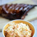 Cómo hacer ensalada de col. Receta americana de ensalada coleslaw