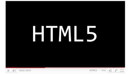 YouTube ya permite usar HTML5 en los vídeos incrustados