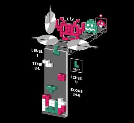 El origen de las piezas del Tetris