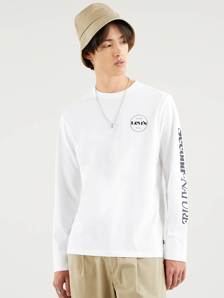 Relaxed LS Graphic Tee MV SSNL Logo LS W