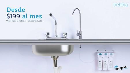 Bebbia: este servicio de suscripción mensual permite beber agua purificada directamente de la llave en México