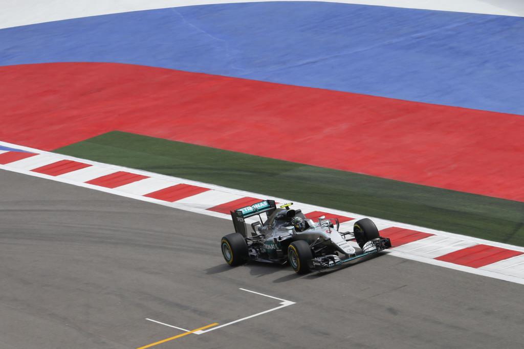 Nico Rosberg Pole Gp China