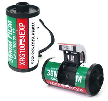 Transformer Camera, cámara analógica con forma de carrete