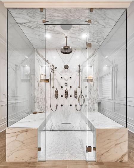 Tendencias el cuarto de baño; las mamparas de ducha más ...
