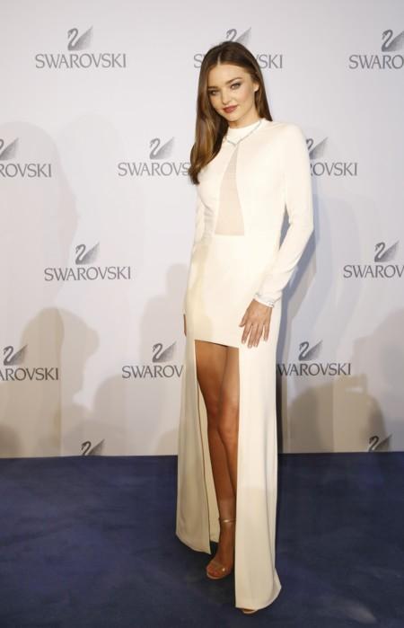 Miranda Kerr Look Blanco Swarovski 2