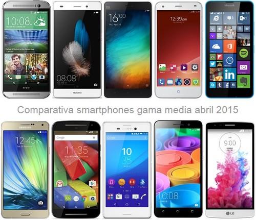 La gama media sigue en auge con mejores móviles a precios más bajos como el Xiaomi Mi 4i y sus rivales