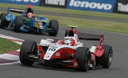 Nico Hulkenberg 2009 Silverstone GP2