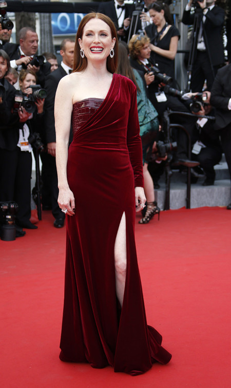 Julianne Moore Cannes 2015 Givenchy Alfombra Roja 1