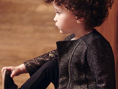 Seis prendas de bebé (para el otoño) donde el negro es el protagonista