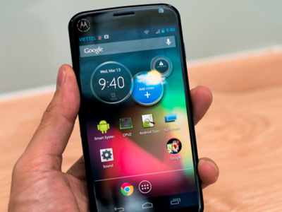 Aparece el prototipo de un Motorola al estilo Nexus