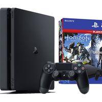 El cupón PREGALO5 de eBay nos deja la PS4 lim de 1 TB con Uncharted 4, The Last of Us y Horizon Zero Dawn más barata todavía, por sólo 284,95 euros