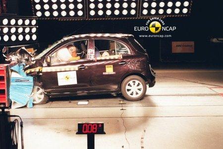 Nissan Micra CVT EuroNCAP