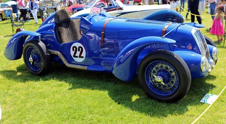 Delage D6 Grand Prix Front Side