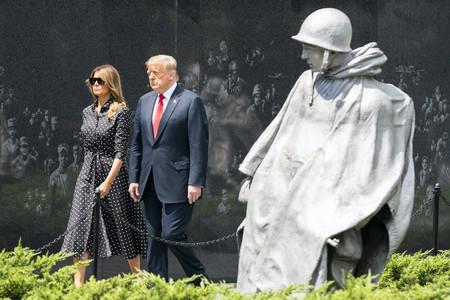 Melania Trump Vestido Lunares 02