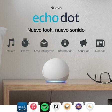 Dispositivos Echo Dot de oferta en Amazon México