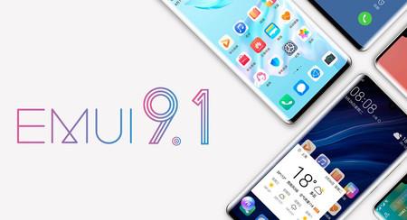 Huawei anuncia los móviles que se actualizarán a EMUI 9.1