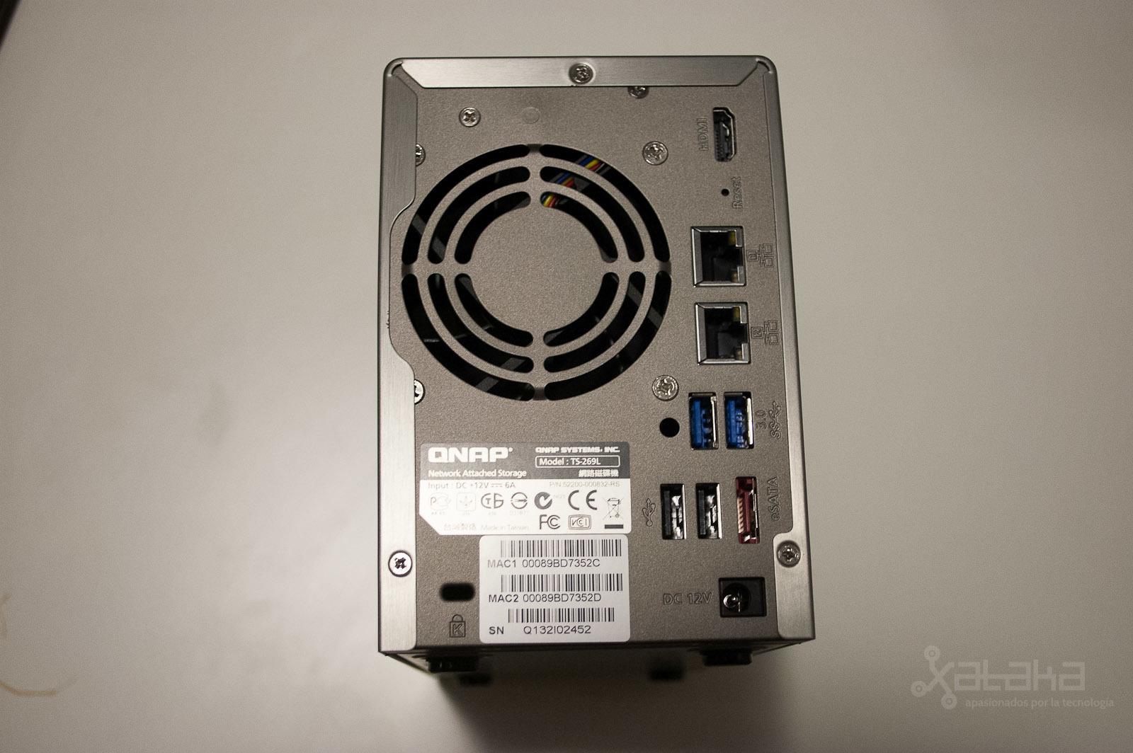 XBMC en QNAP TS-269L