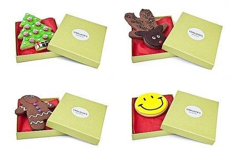 Carlota's Cards, felicitando la Navidad con galletas postales