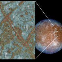 La NASA confirma la presencia de vapor de agua en la superficie de Europa, una de las lunas de Júpiter