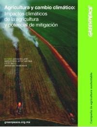 Agricultura, ganadería y cambio climático