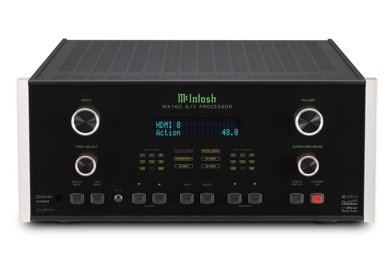 McIntosh MX160, el nuevo procesador de sonido de la marca que viene con lo último en audio envolvente