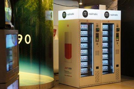 NailMatic, una máquina expendedora de esmaltes de uñas