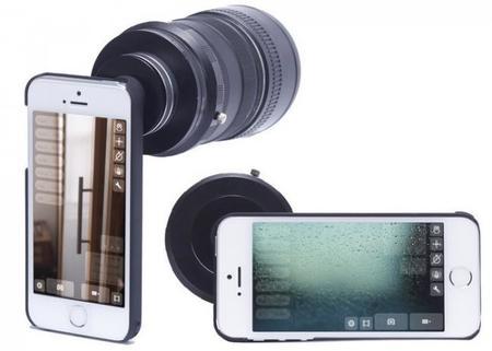 Turn-I-Kit iPhone Lens Adapter: Adaptador para usar tus objetivos Nikon y Canon en tu iPhone