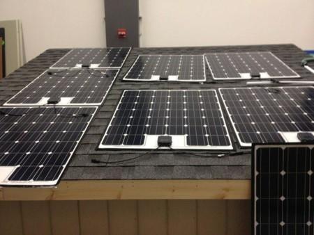 Fraunhofer Solar Panel 1