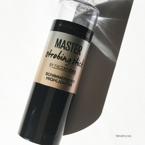 ¡Que no nos falte nunca un iluminador! Probamos el Master Strobing Stick de Maybelline