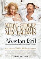 'No es tan fácil' con Mery Streep, cartel y tráiler