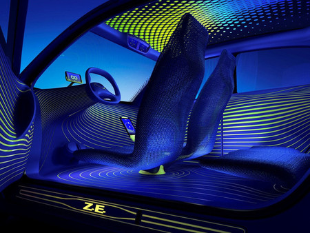 Renault Twin'Z Concept-Car, vista interior