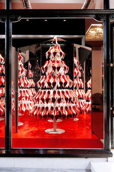 El árbol de Navidad de Christian Louboutin