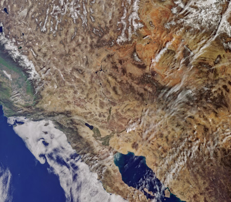 California From Sentinel 3a